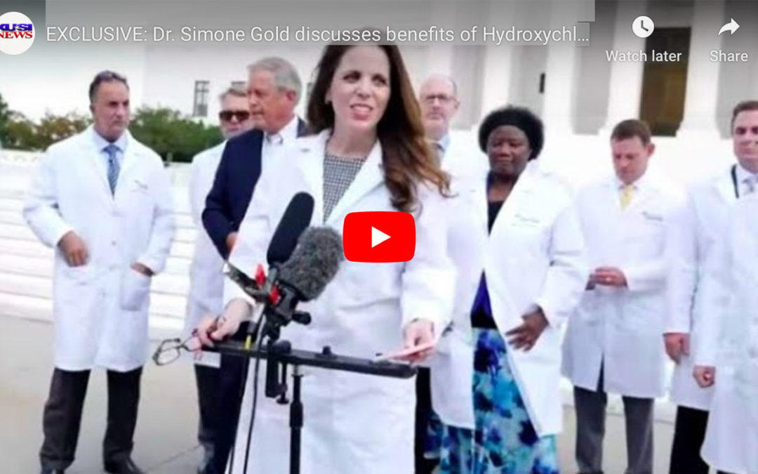 EXCLUSIVE: Dr. Simone Gold discusses benefits of Hydroxychloroquine after video promoting drug was censored